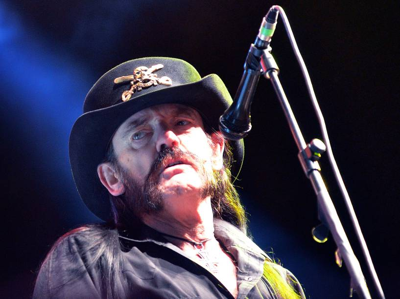 <p>Lemmy, vocalista do Motorhead</p>