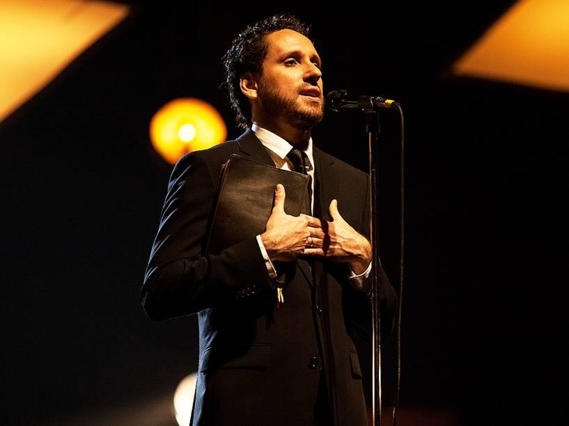 O cantor gospel Leonardo Gonçalves