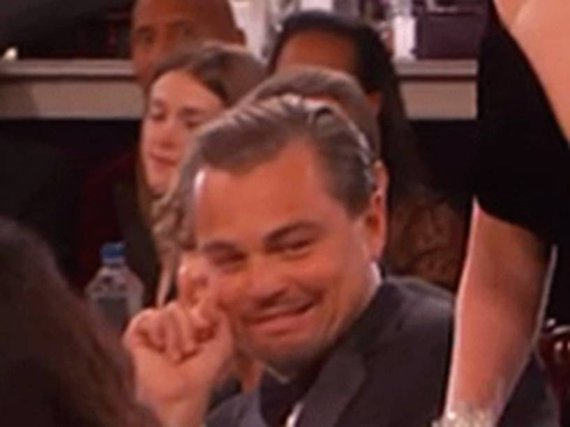 <p>Leonardo DiCaprio vira meme após reação ao anúncio da vitória de Lady Gaga no Globo de Ouro</p>