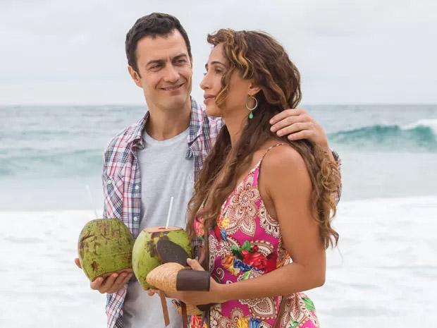 Gabriel Braga Nunes é Luís Fernando, que seduz e engana Regina, personagem de Camila Pitanga em Babilônia