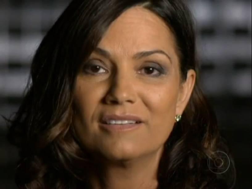 Luiza Brunet em entrevista ao Fantástico