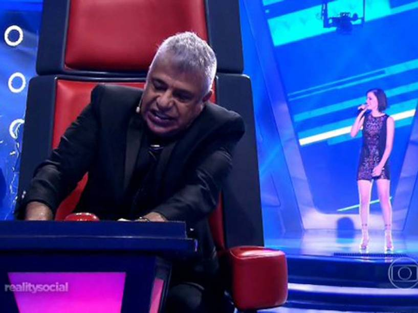 Lulu Santos no The Voice Brasil