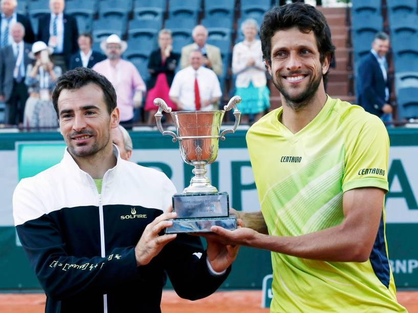 Marcelo Melo vence e conquista título de Roland Garros
