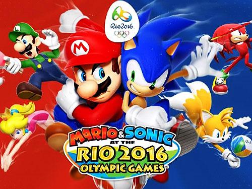 Mario & Sonic Rio 2016 será lançado no ano das Olimpíadas e estará disponível para 3DS e também Wii U