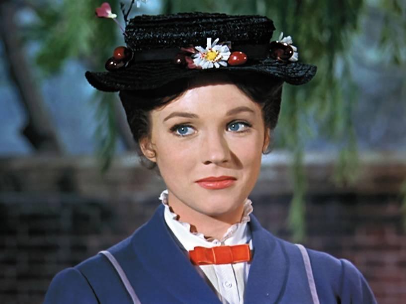 Na versão de 1964, Julie Andrews interpretou a babá mágica