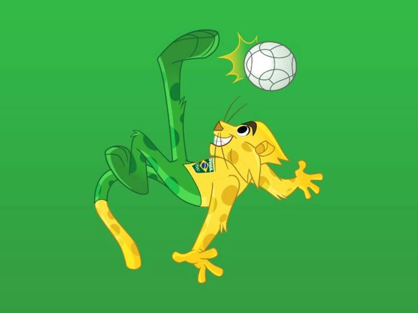 Ginga, é a nova mascote do Time Brasil