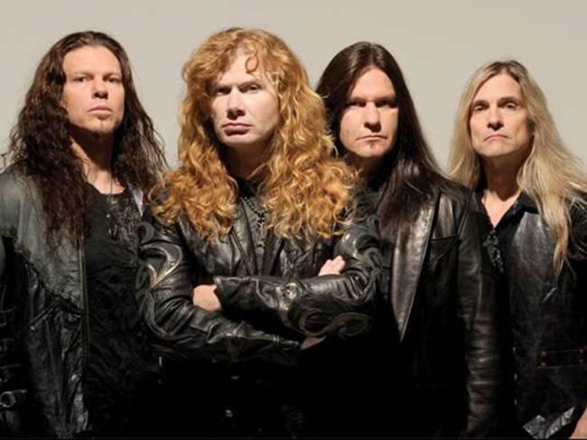 A banda Megadeth
