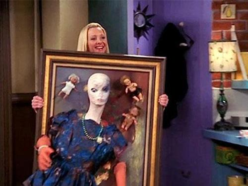 """Houve quem comparasse o presente com cena do seriado """"Friends"""""""