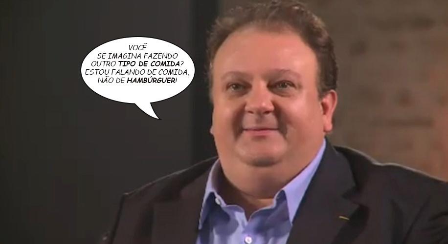 Jurado mais temido do Masterchef Brasil, Erick Jacquin, também virou alvo de memes