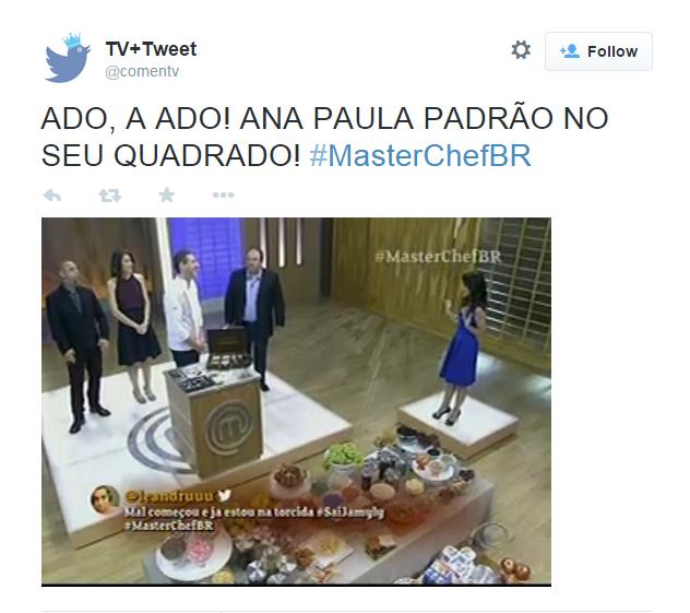 Ana Paula se torna piada por ocupar um quadrado separado no estúdio do reality show