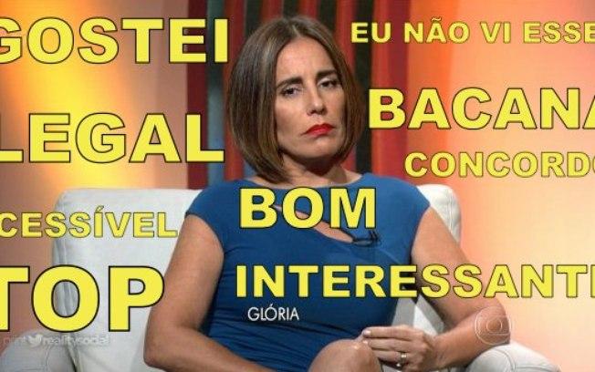 Comentários vagos de Gloria Pires na cobertura do Oscar na TV Globo se tornaram alvo de brincadeiras na internet
