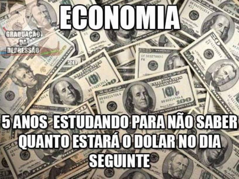 Dólar a 4 reais vira meme nas redes sociais