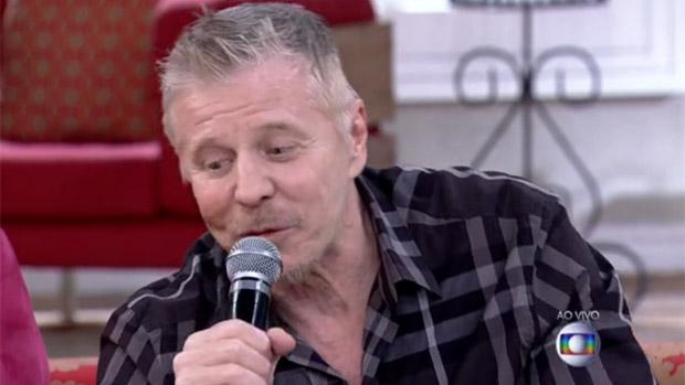 O ator Miguel Falabella no programa Encontro com Fátima Bernardes