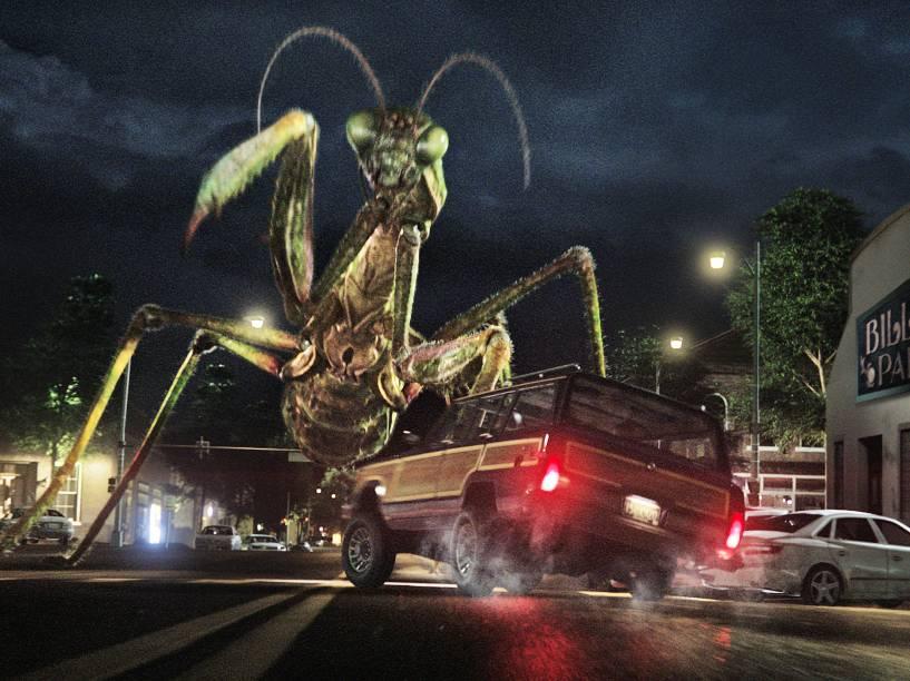 Cenas do filme Goosebumps - Monstros e Arrepios