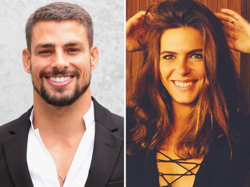 O ator Cauã Reymond e a modelo Mariana Goldfarb