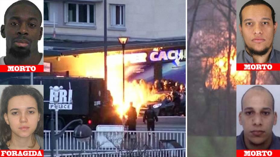 Três terroristas morrem durante operação da polícia francesa
