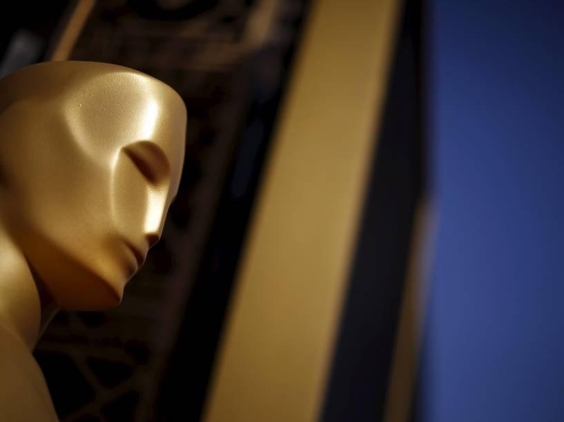 Preparativos momentos antes do início do Oscar 2016 no Teatro Dolby, em Los Angeles