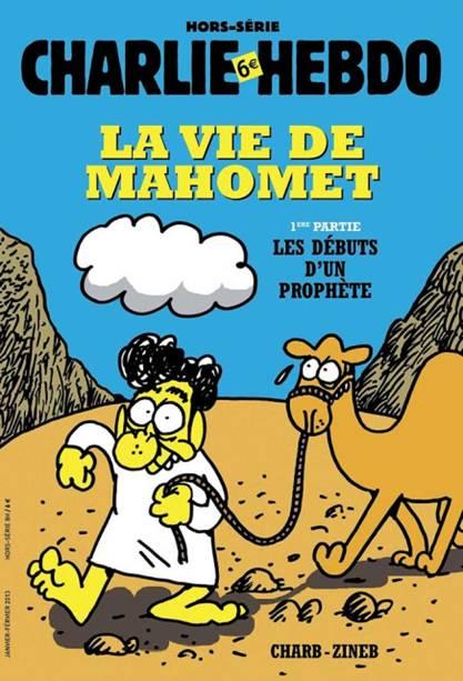 """""""A vida de Maomé – 1ª parte: Os primórdios de um profeta"""". Edição faz parte de um especial que a revista fez sobre a vida de Maomé, em janeiro de 2013"""