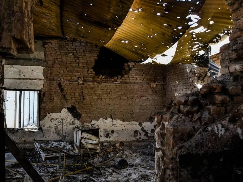 Hospital de Kunduz após bombardeio