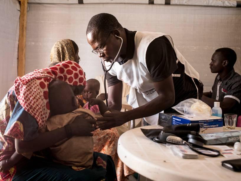 Atendimento a deslocados internos no Chad