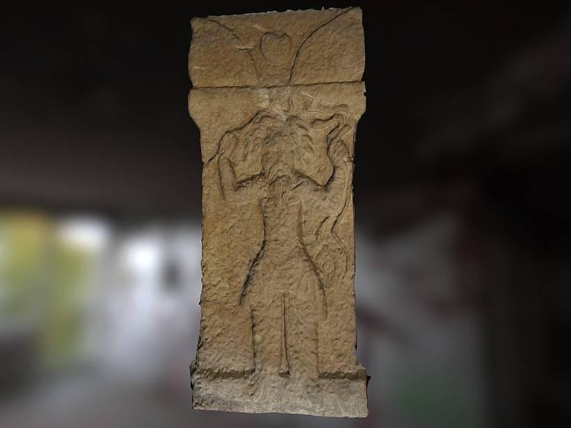 <p>Deus Nirgul 3D: mais de 700 imagens já fazem parte do banco de dados do Projeto Mosul.</p>