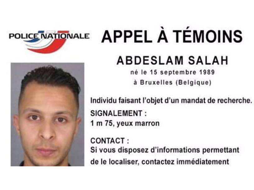Imagem divulgada pelo Serviço de Informação e Comunicação da Polícia Francesa (SICOP) mostra uma foto de Abdeslan Salah, suspeito de estar envolvido nos ataques que ocorreram em Paris na última sexta-feira - 15/11/2015