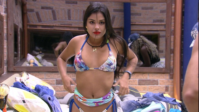 Munik, participante do Big Brother Brasil 16