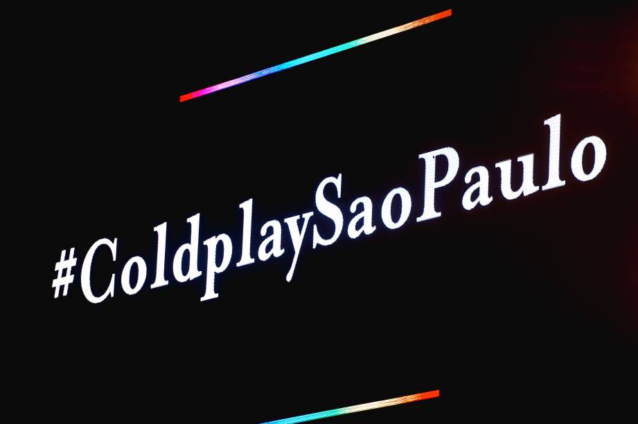 Painel anuncia show dos britânicos do Coldplay no Allianz Parque em São Paulo - 07/04/2016