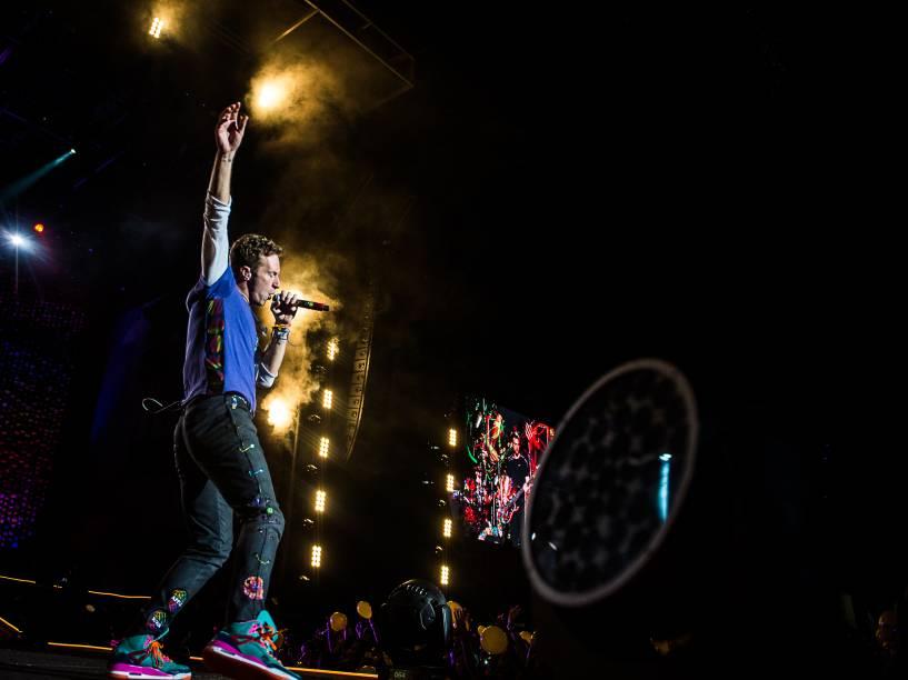 Coldplay volta ao Brasil após quase cinco anos para a turnê do álbum A Head Full of Dreams - 07/04/2016<br><br>