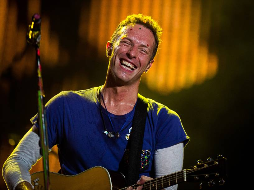 Coldplay volta ao Brasil após quase cinco anos para a turnê do álbum A Head Full of Dreams - 07/04/2016