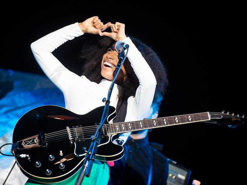 A cantora de 26 anos já gravou dois álbuns Is Your Love Big Enough? (2012) e o mais recente Blood (2015)