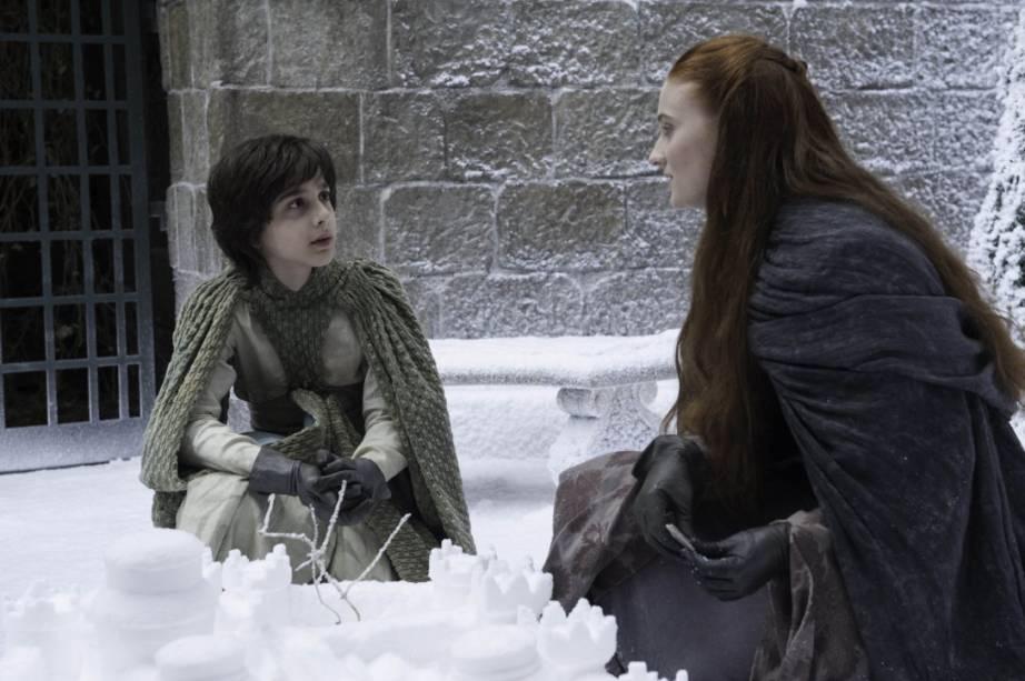 O ator brasileiro Lino Facioli em cena de Game of Thrones