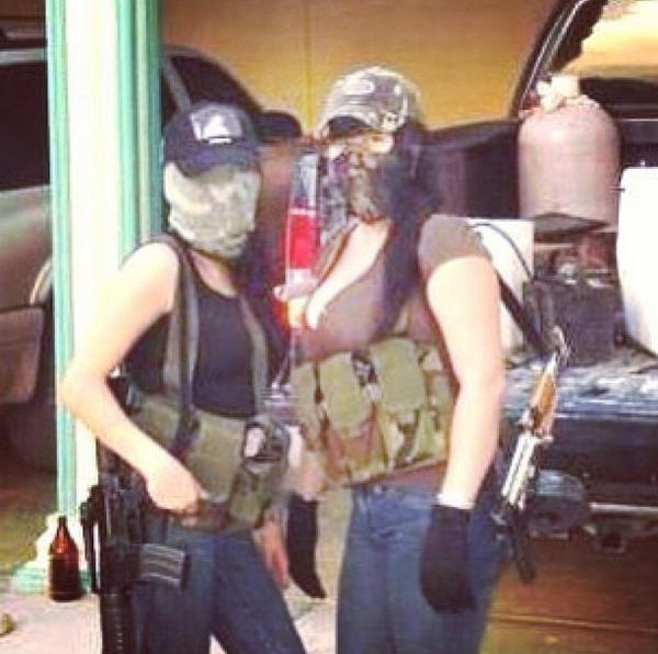 Mulheres de narcotraficantes se exibem no Instagram