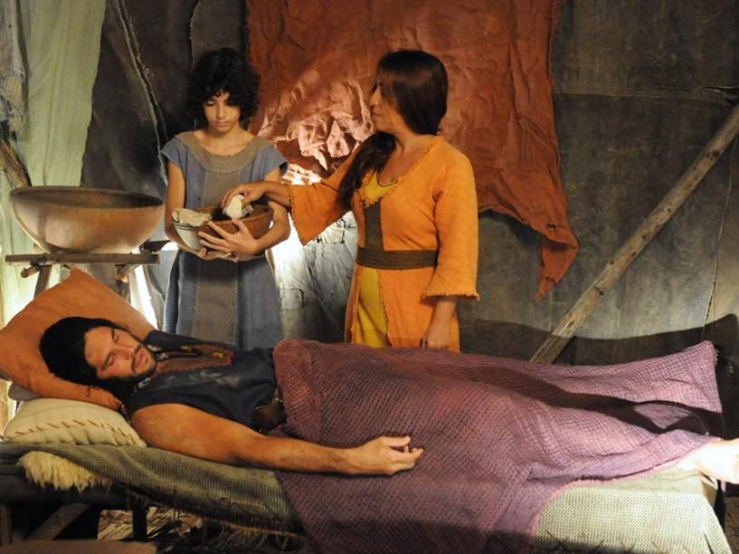 Cenas da segunda temporada de Os Dez Mandamentos, novela da produida e televisionada pela Record