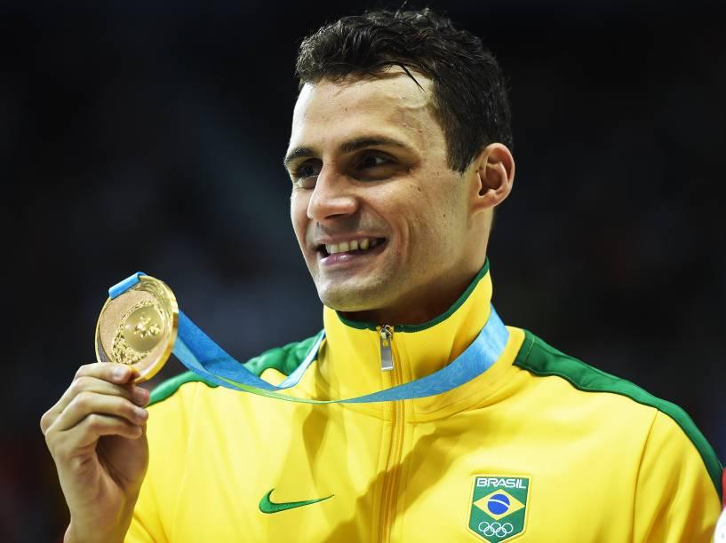 Leonardo de Deus vence prova dos 200m borboleta e conquista a medalha de ouro nos Jogos Pan-Americanos de Toronto, no Canadá