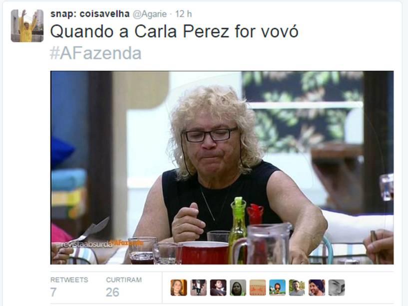 Para alguns, Ovelha é a Carla Perez mais velha.