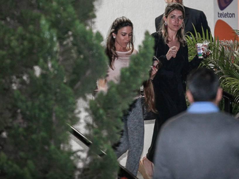 Patricia e Rebeca Abravanel, filhas de Silvio Santos, deixam o SBT participação no Teleton 2015