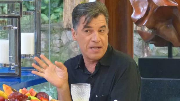 O ator Paulo Betti no programa Mais Você, da Globo