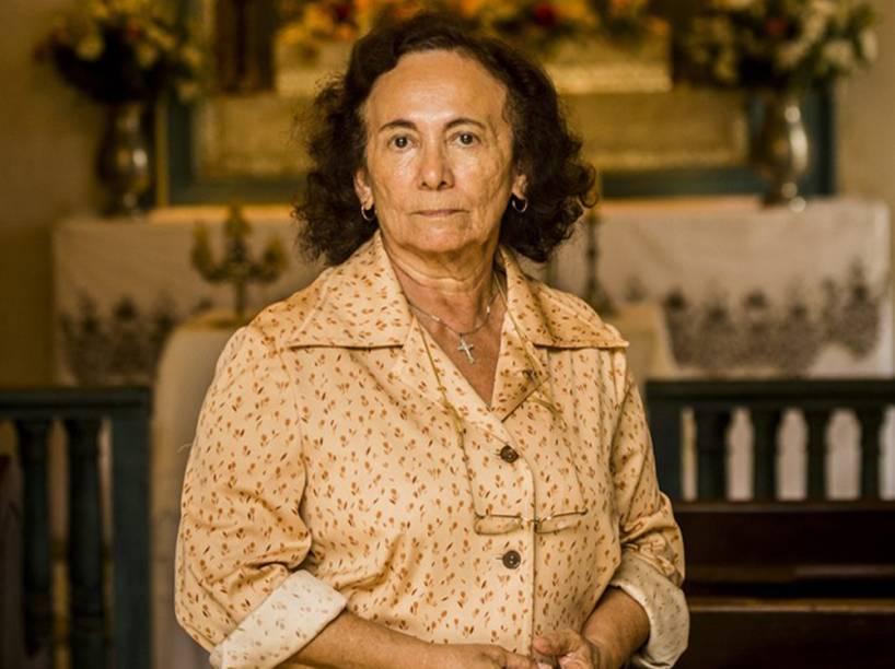 Atriz Zezita Matos interpreta Piedade em nova fase de Velho Chico, papel vivido por Cyria Coentro na primeira fase