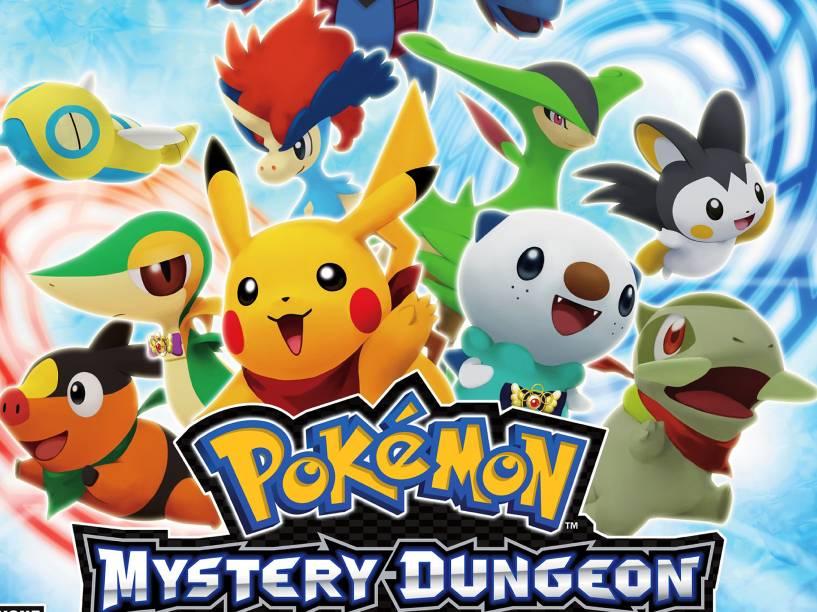 Pokemón está de volta com Super Mystery Dungeon, um game onde todos os humanos são transformados nas criaturas. Disponível para 3DS, o jogo está previsto para o verão