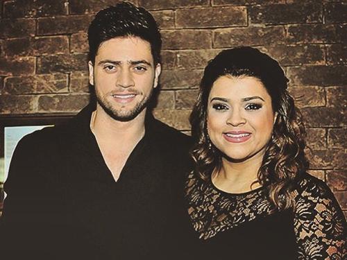 Rodrigo Godoy com a noiva Preta Gil
