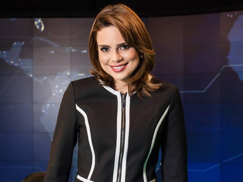 A jornalista Rachel Sherazade