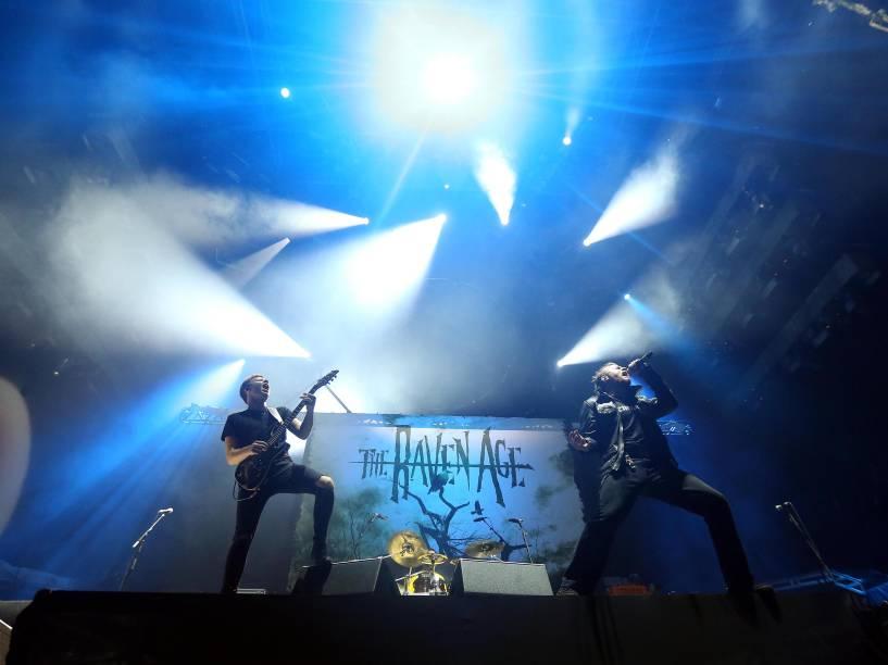 A banda Raven Age foi a primeira a se apresentar no Allianz Parque
