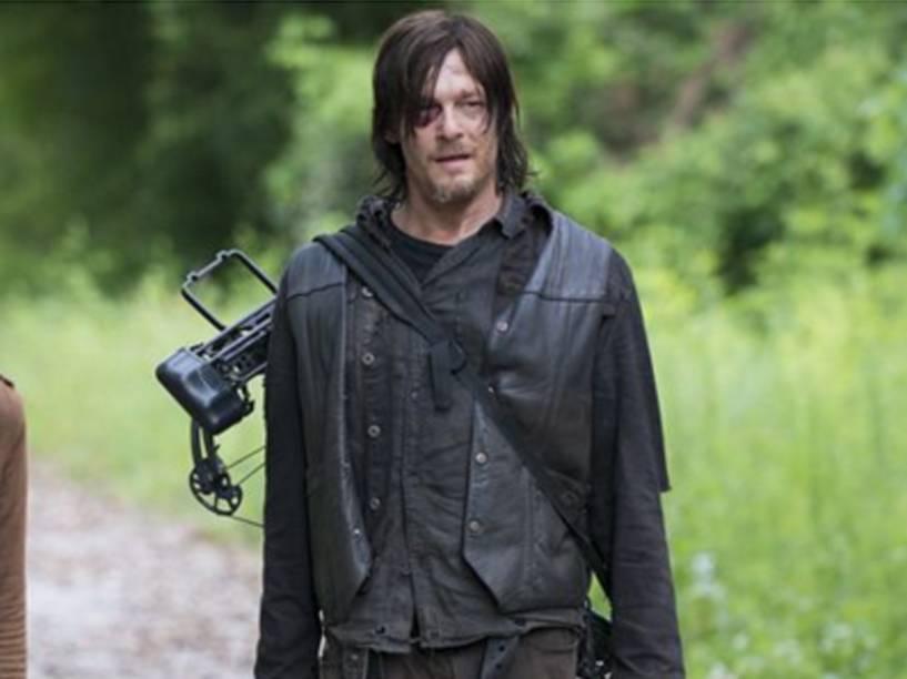 Daryl Dixon (Norman Reedus) em cena de The Walking Dead