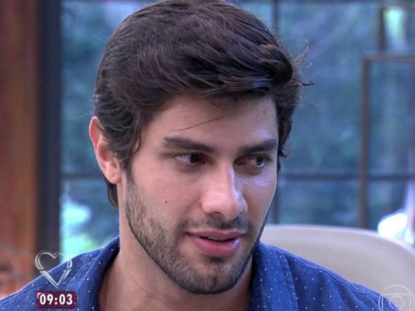 Renan participa do Mais Você após ser eliminado do BBB16