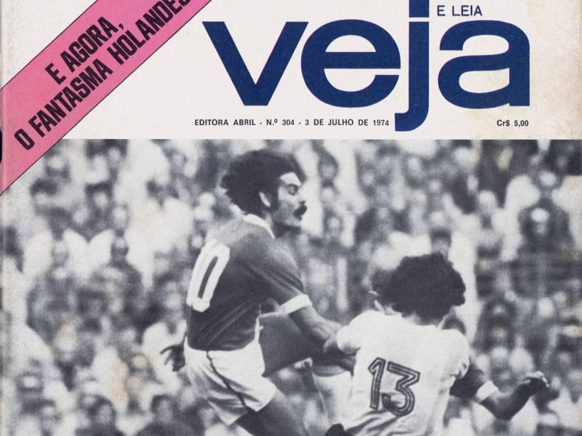 Capa de VEJA, edição 304, de 03 de Julho de 1974
