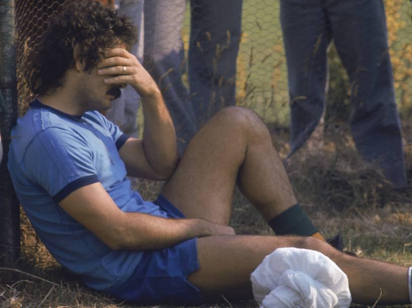 Roberto Rivellino, em 1977