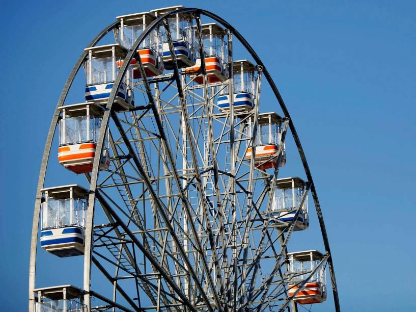 Roda gigante dentro da Cidade do Rock