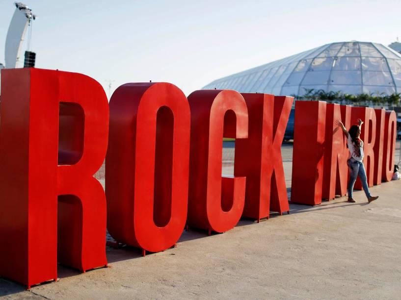 Letreiro do Rock in Rio 2015