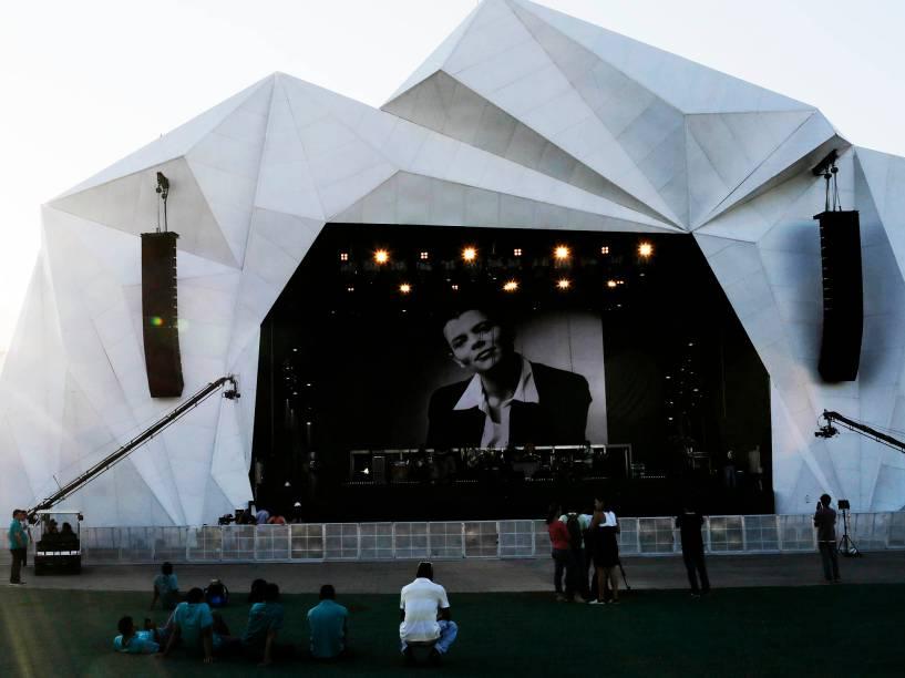 Um dos palcos do Rock in Rio 2015